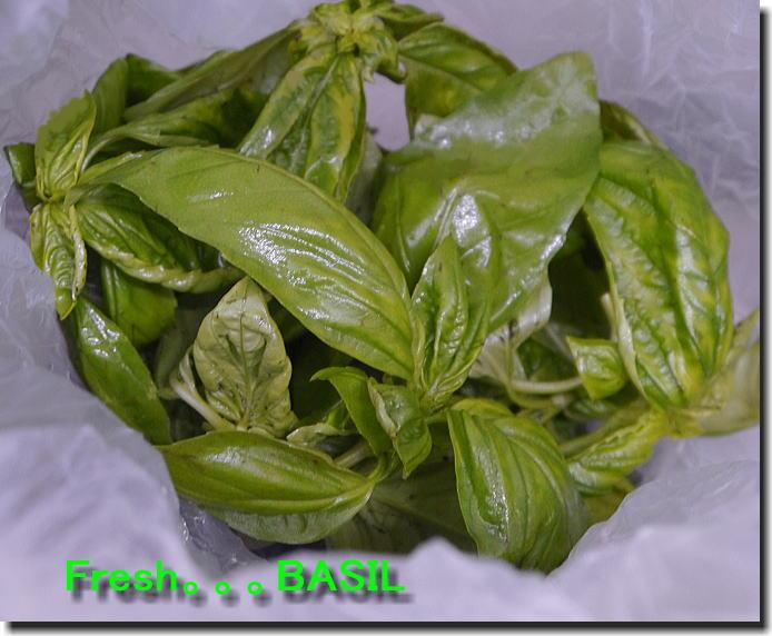 Basil...頂きました❤_f0178858_19274897.jpg