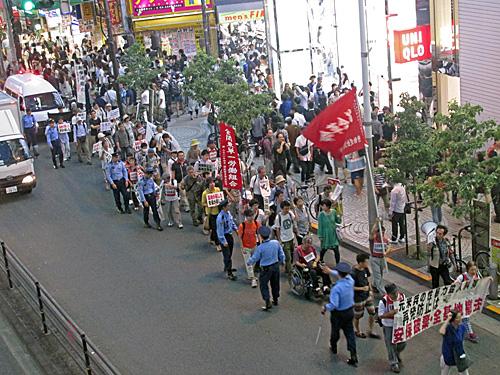 新宿大街宣~意思表示~デモ_a0188487_16535015.jpg
