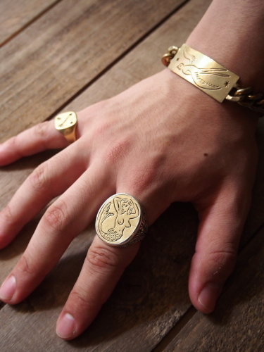 LHN  Mermaid Signet Ring_c0246125_16272112.jpg
