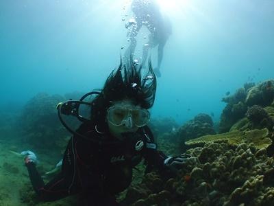 「ビーチで体験ダイビング」_b0033573_23090529.jpg