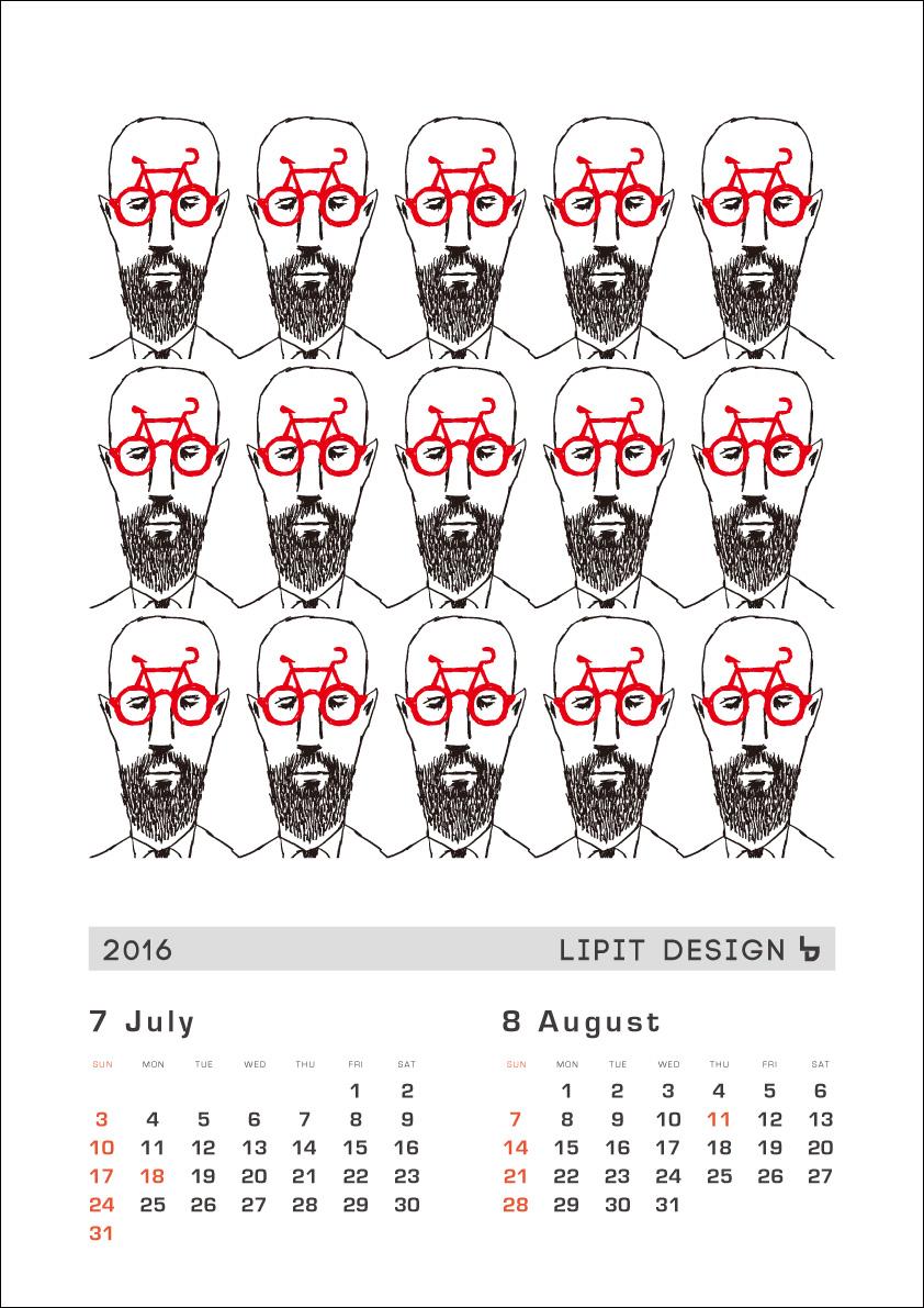 リピトオリジナルカレンダー「LIPIT DESIGN」おしゃれ自転車 リピトデザイン 自転車グッズ オシャレ自転車_b0212032_16233173.jpg