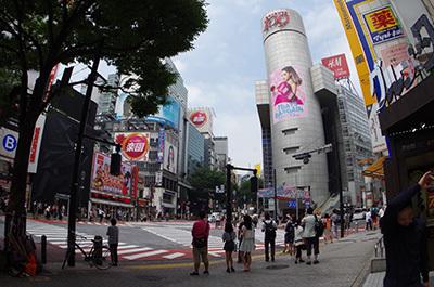 7月1日(金)今日の渋谷109前交差点_b0056983_20435084.jpg