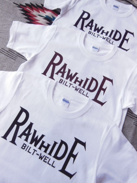 RAWHIDE Tシャツ等各種入荷_c0187684_194853100.jpg