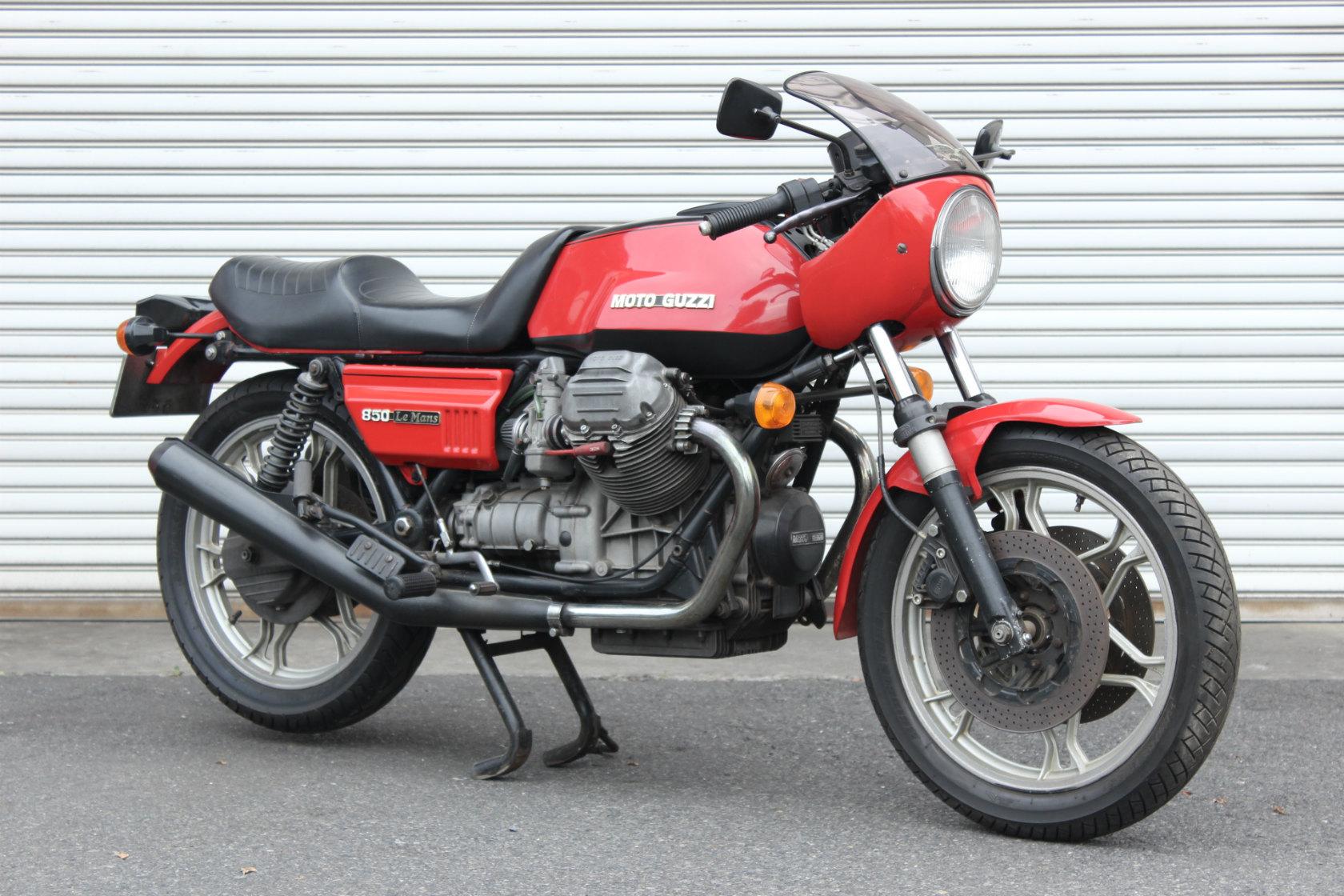 Moto Guzzi CX100 Le mansⅠCustom_a0208987_12174199.jpg