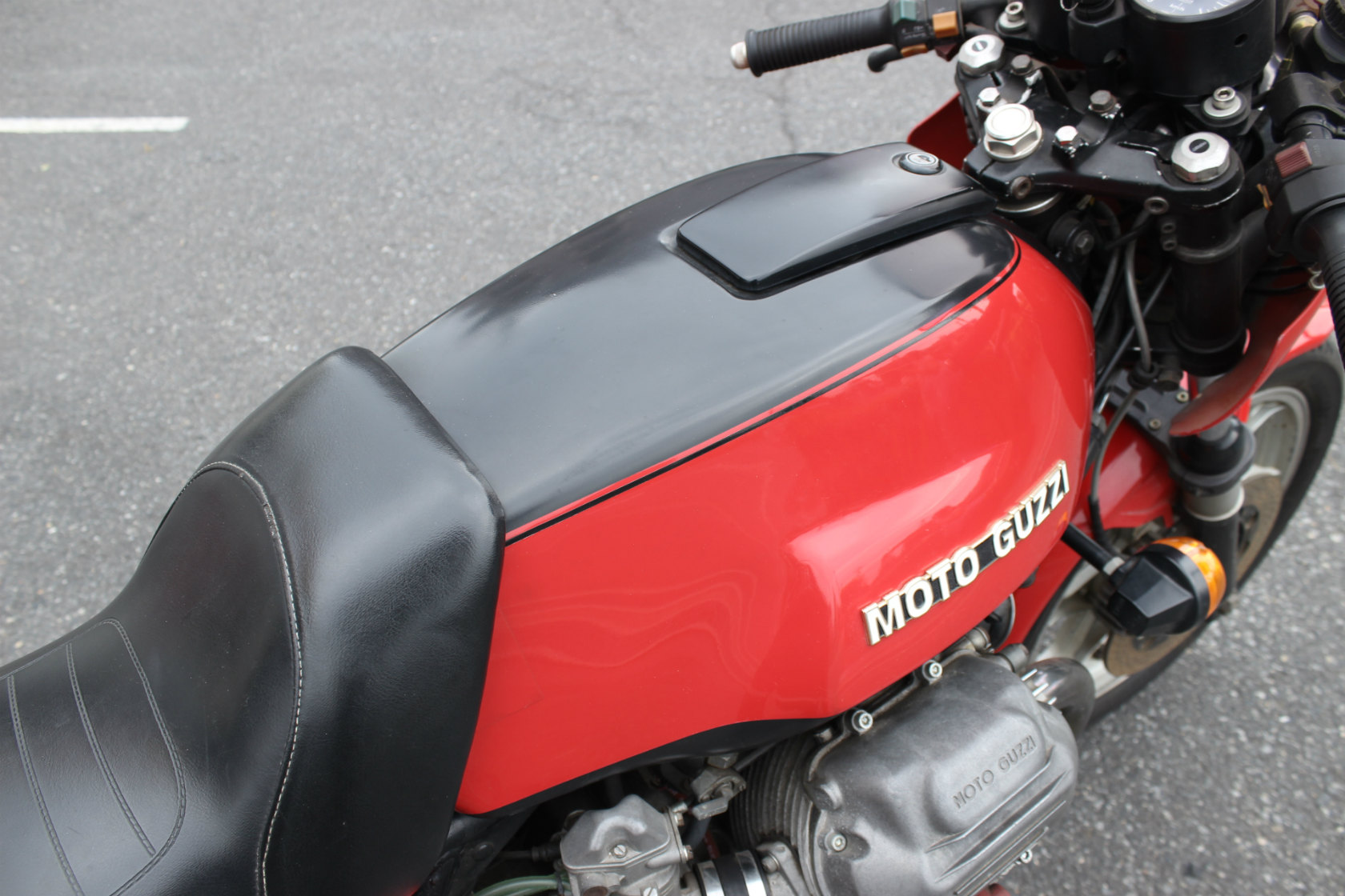 Moto Guzzi CX100 Le mansⅠCustom_a0208987_12182124.jpg