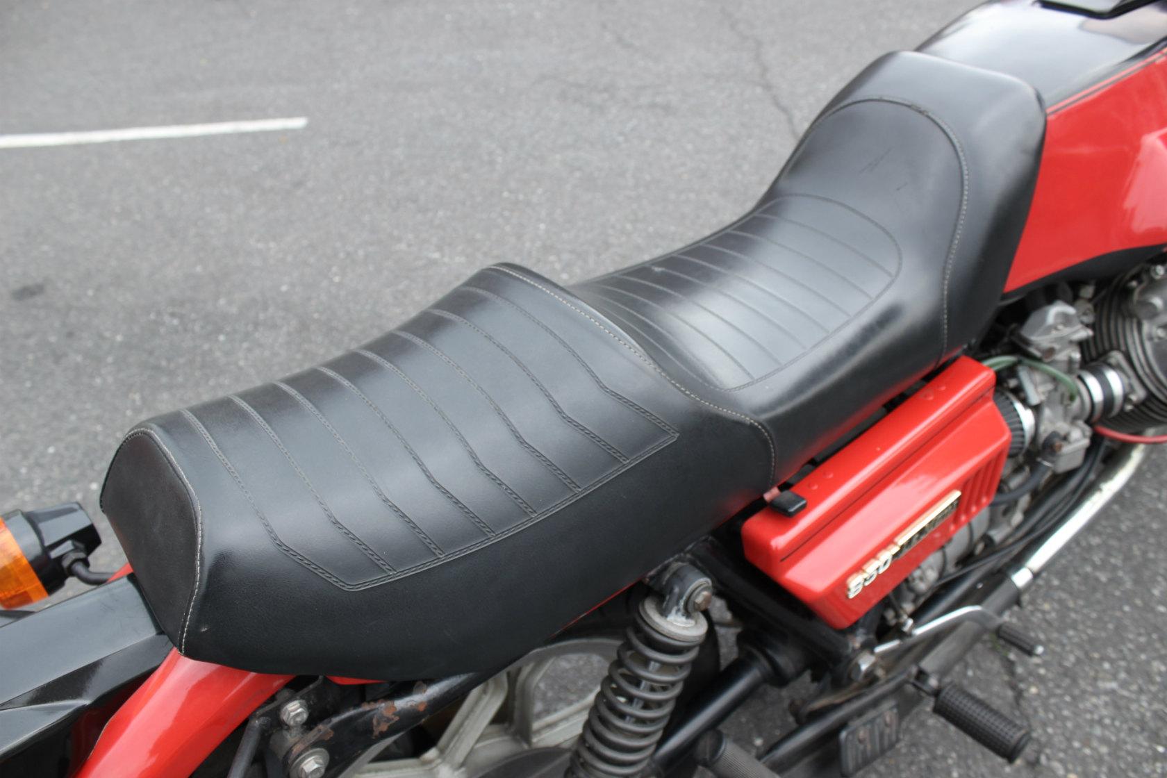 Moto Guzzi CX100 Le mansⅠCustom_a0208987_12182963.jpg