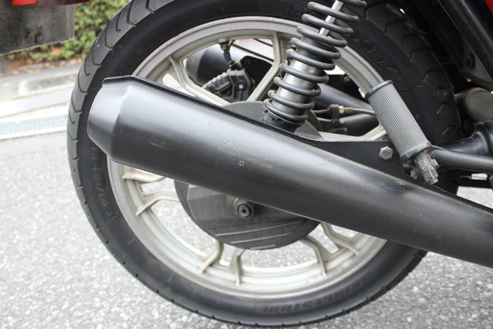 Moto Guzzi CX100 Le mansⅠCustom_a0208987_12183733.jpg