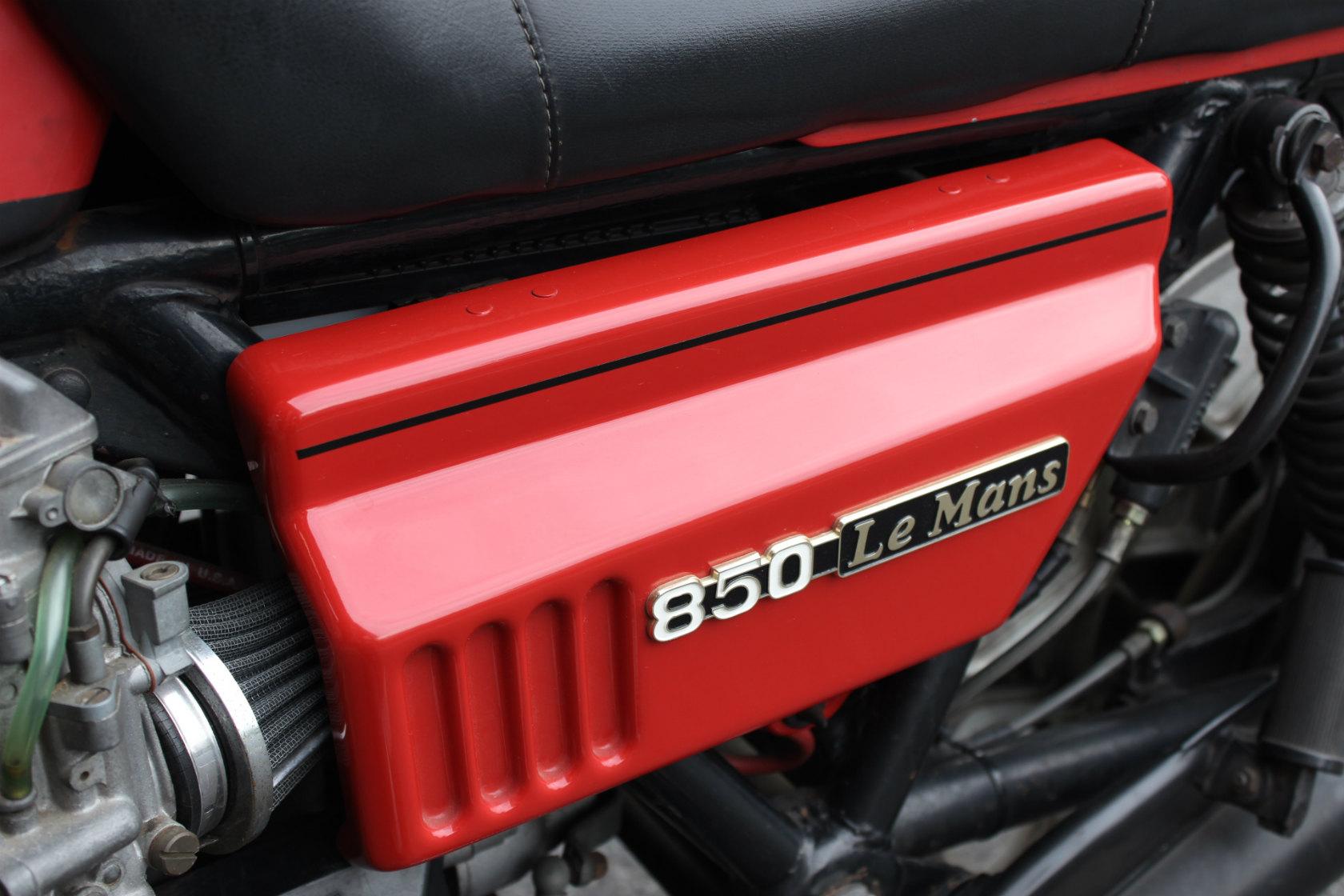 Moto Guzzi CX100 Le mansⅠCustom_a0208987_12185197.jpg