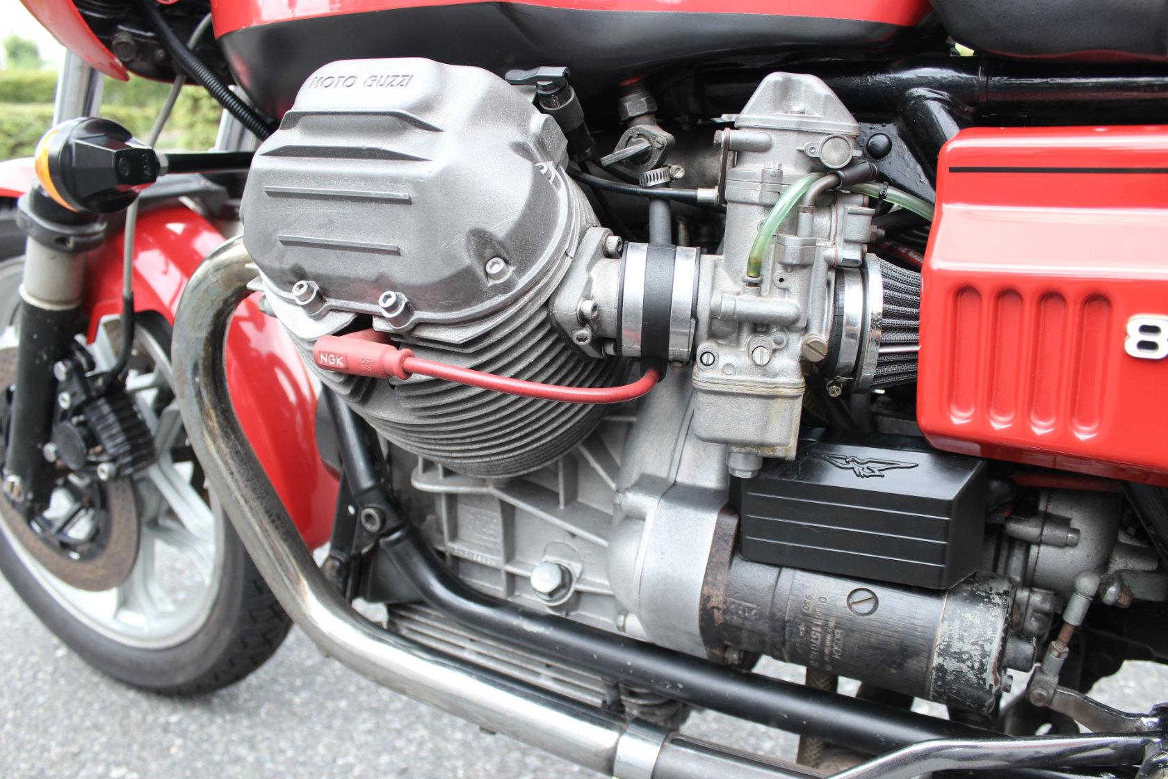 Moto Guzzi CX100 Le mansⅠCustom_a0208987_1219058.jpg