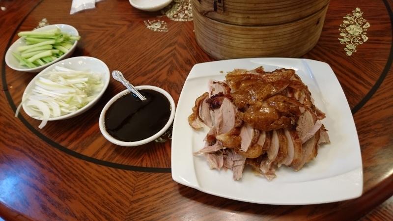 お口直しの北京ダック食べ放題に挑戦です。_c0225997_00055899.jpg