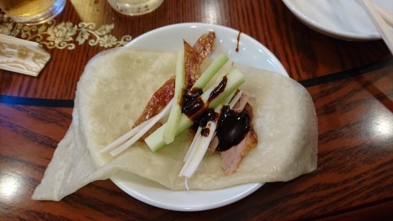 お口直しの北京ダック食べ放題に挑戦です。_c0225997_00080442.jpg