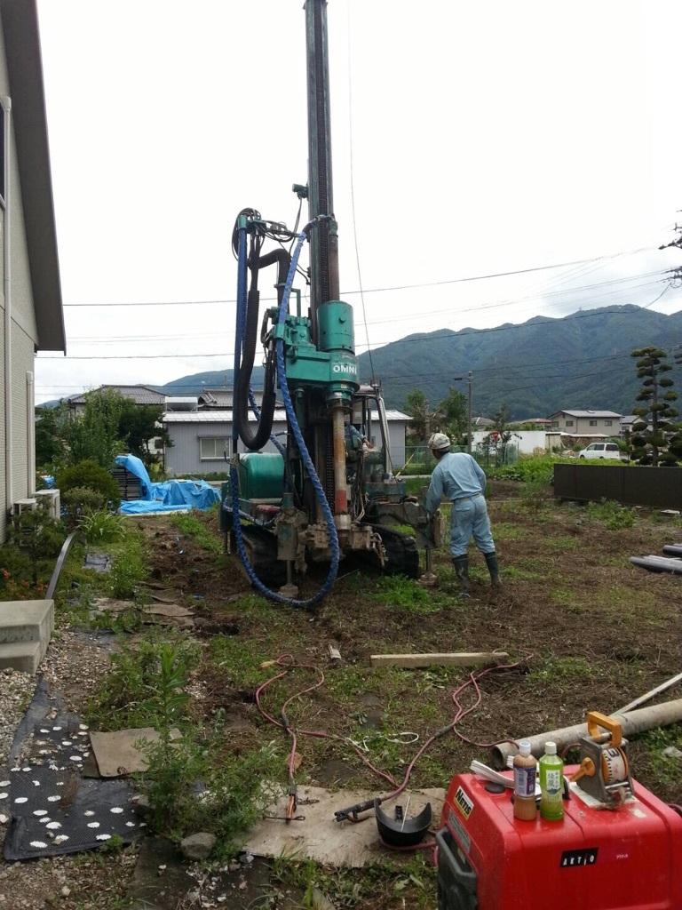諏訪市 F様邸 地盤改良工事_e0347716_10161798.jpg