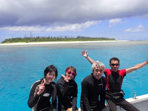 7月2日最高水納島と激混み青の洞窟_c0070933_23524779.jpg