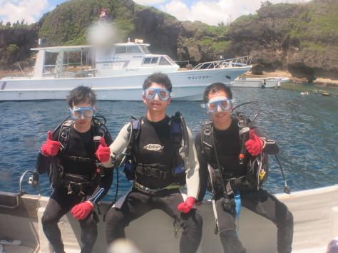 7月2日最高水納島と激混み青の洞窟_c0070933_23563870.jpg