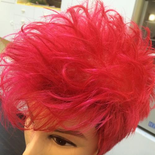 遊んでるヘアカラー。。_a0046942_08424574.jpg