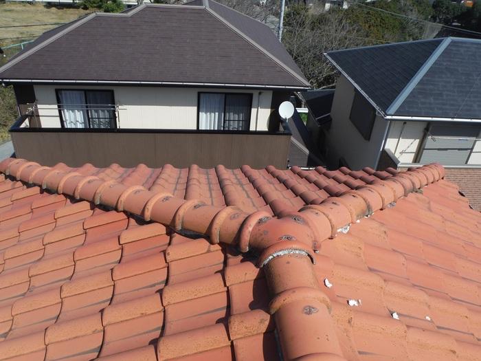 瓦屋根葺き替えと外壁塗り替え ~ ご依頼は。_d0165368_517665.jpg