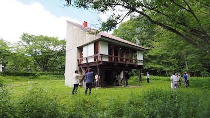 那須の別荘見学 〜宮脇檀氏設計_f0054859_10333922.jpg