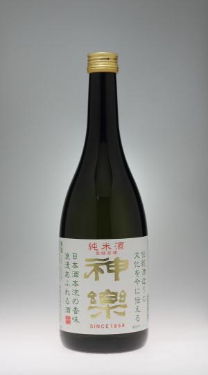 神楽 純米酒[神楽酒造]_f0138598_2259257.jpg