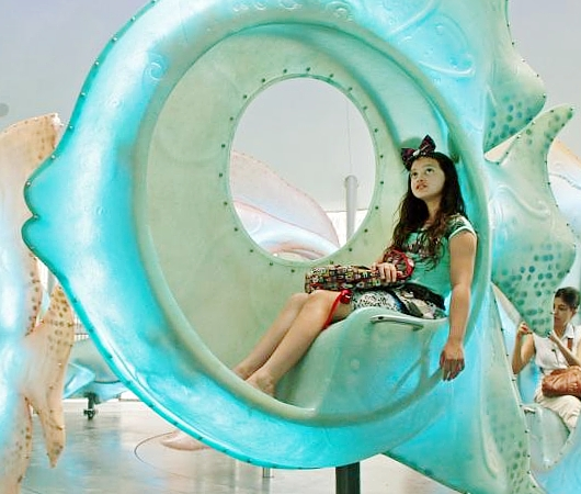 バッテリー・パークから眺める自由の女神さま、SeaGlass Carouselもできました_b0007805_21271266.jpg