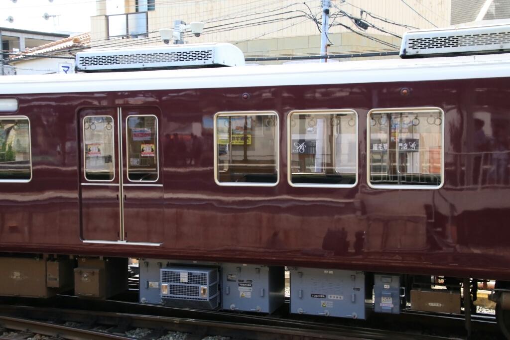 阪急C♯8001×8R  試運転_d0202264_14494188.jpg