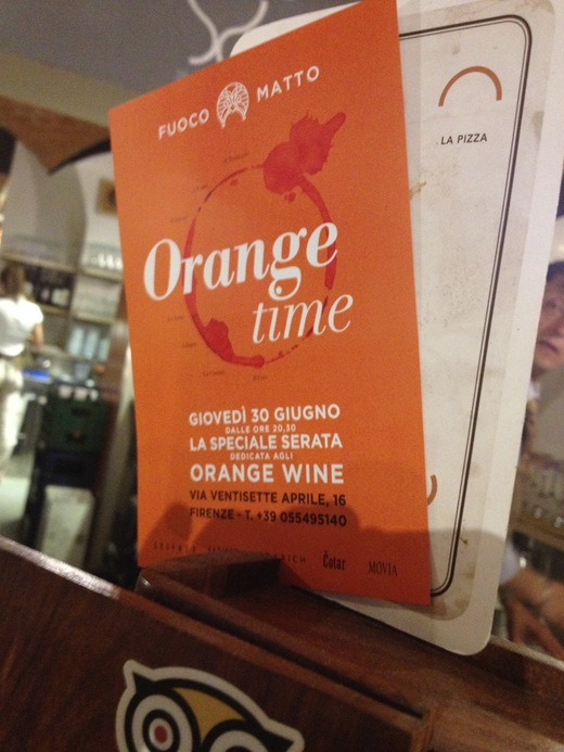 オレンジワインを試飲した夜_a0136671_112163.jpg