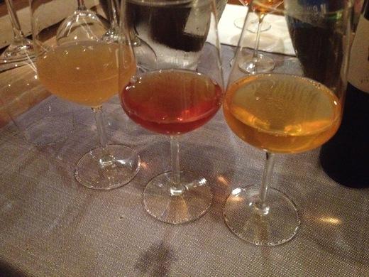 オレンジワインを試飲した夜_a0136671_1201433.jpg