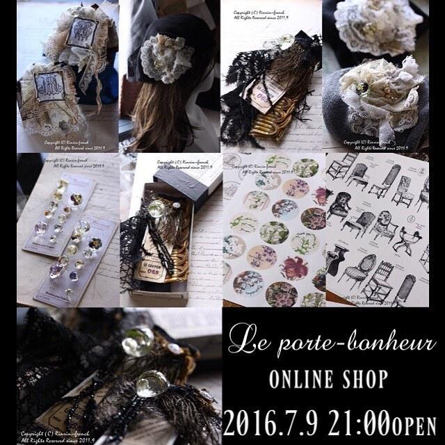 ネットショップ プレビュー中です。Le porte-bonheur_e0237680_09164289.jpg