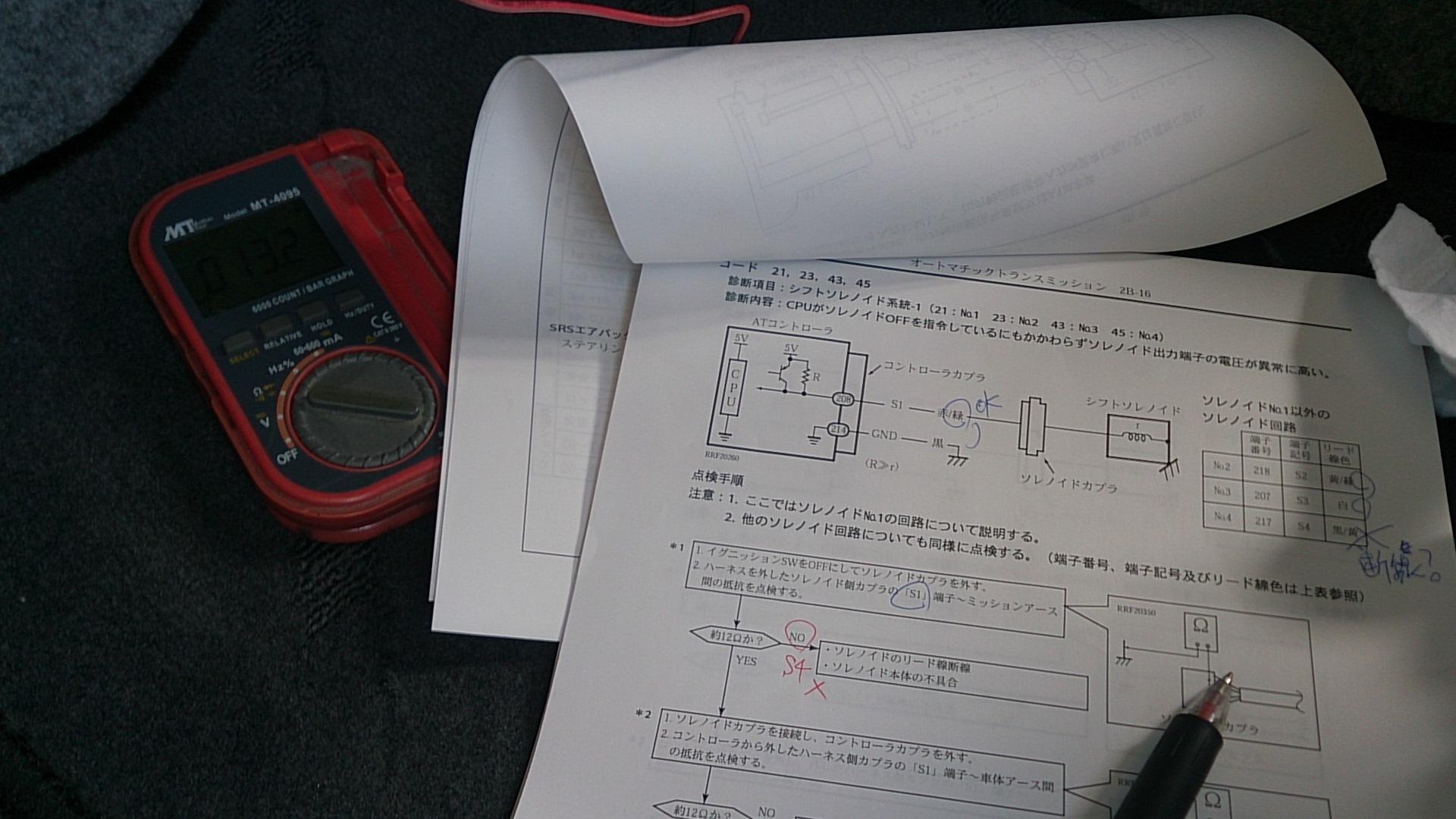 JB23 ジムニー ソレノイドバルブ交換(*´Å`)ノ_c0213517_11102443.jpg
