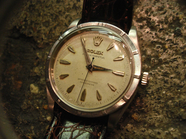 NEW : ROLEX [Air King] & [Engine Turned] 60\'s ANTIQUE WATCH !!_a0132147_179247.jpg
