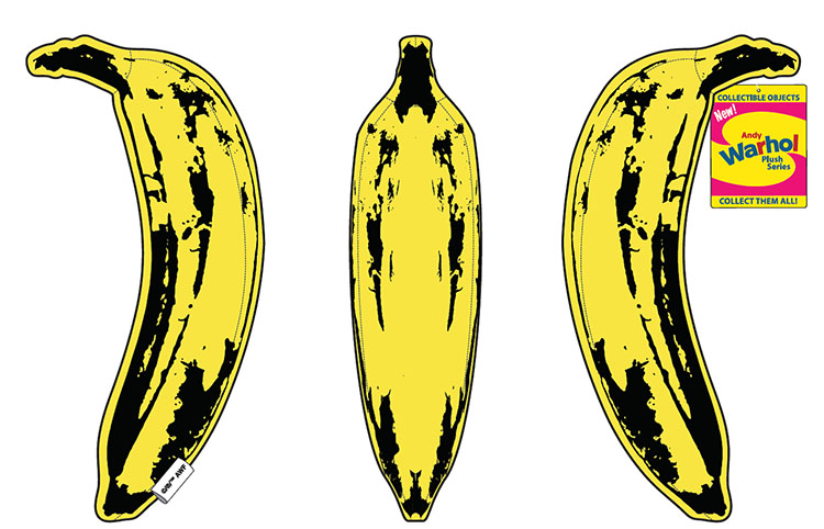 Andy Warhol Banana Medium Plush_e0118156_11504273.jpg