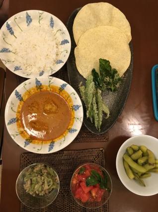 今夜のご飯はインド料理_a0163160_22254524.jpg