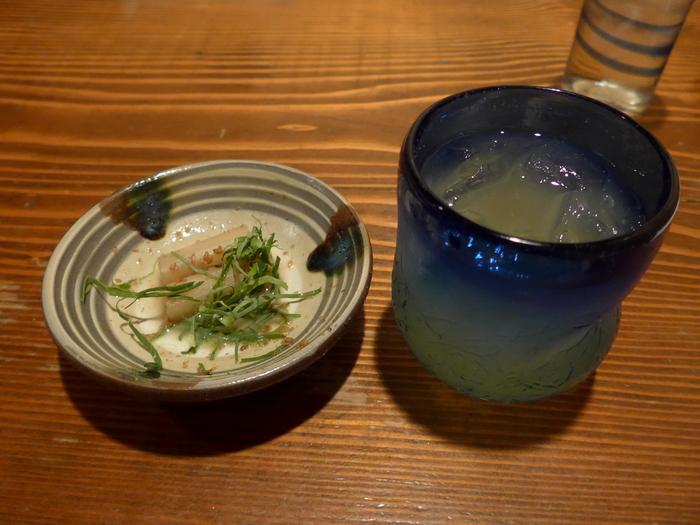 那覇・安里「古酒と琉球料理 うりずん」へ行く。_f0232060_15352349.jpg