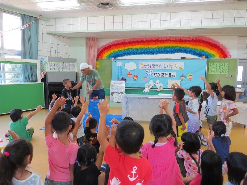 2016 幼稚園で採蜜体験_a0247891_12135042.jpg