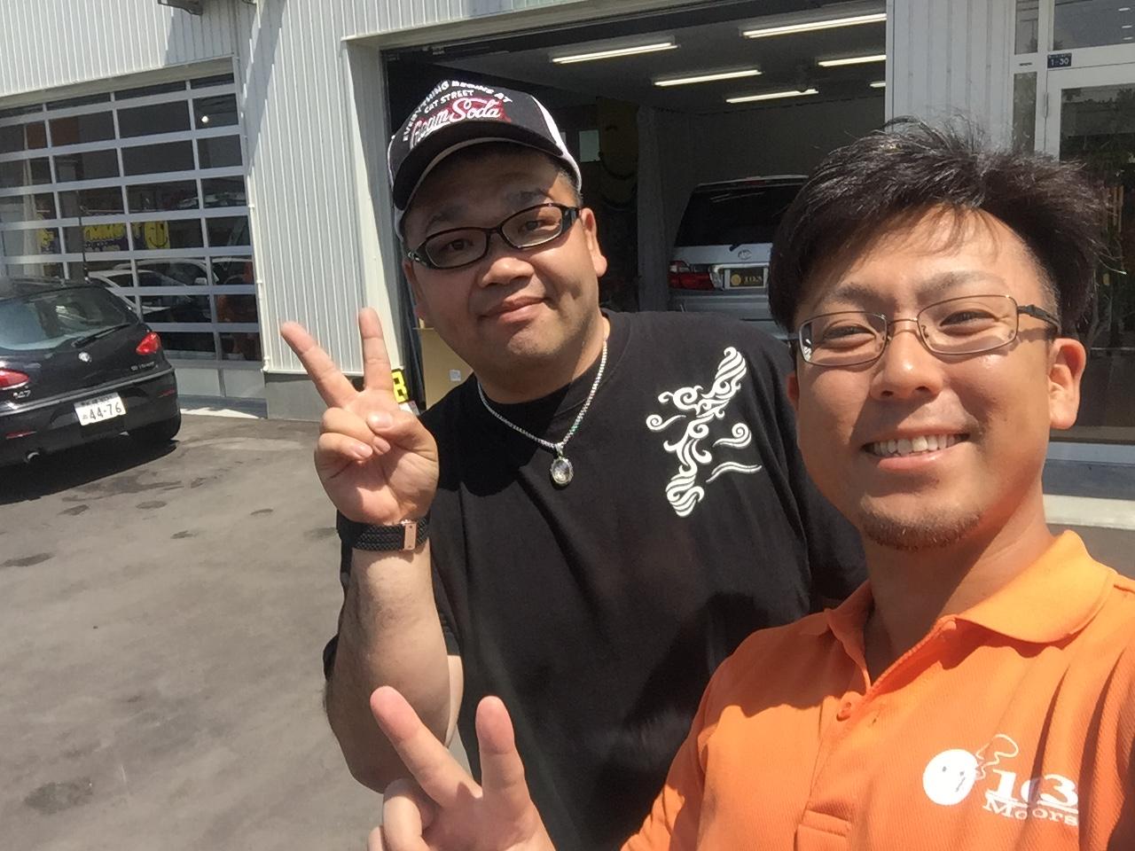 7月 7日 (木) ken ブログ ランクル ハマー アルファード_b0127002_22113558.jpg