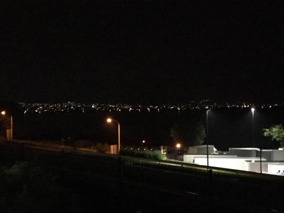 夜の諏訪湖_e0061304_03200097.jpg