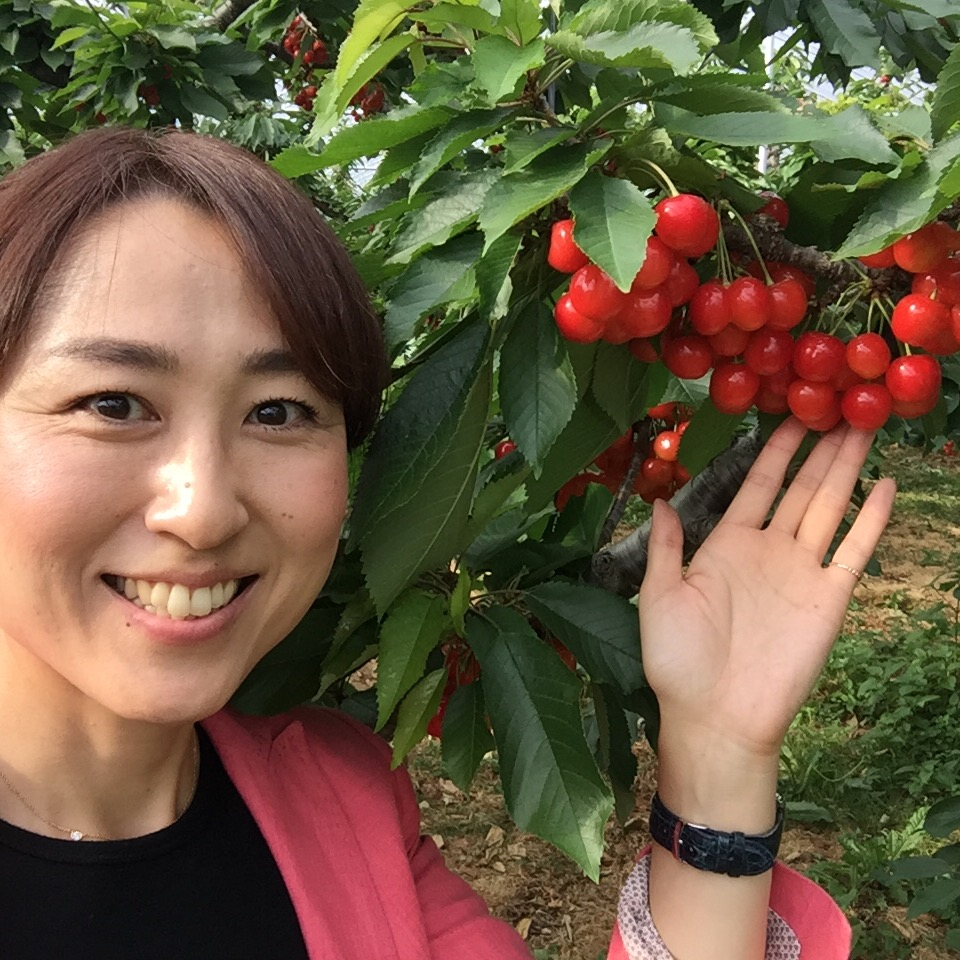 わーい、紅い宝石♡〜盛岡さくらんぼ〜_b0199244_7143586.jpg