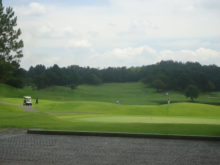 ゴルフ場でランチ_a0199979_20255277.jpg