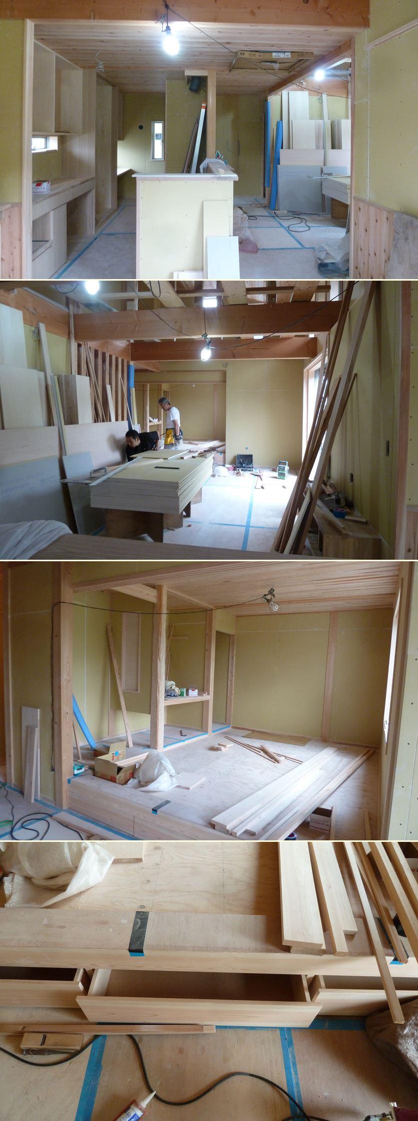 横浜市旭区の家☆大工工事も佳境に_c0152341_1037814.jpg
