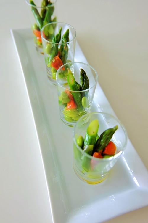グリーンアスパラガスと枝豆、セミドライトマトのマリネ_b0145846_11245289.jpg