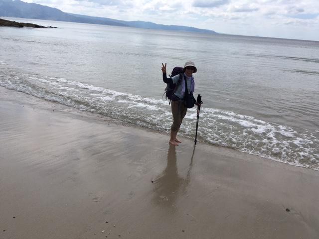 大西洋の海辺を歩いてフィステーラへ!_f0019247_11464887.jpg