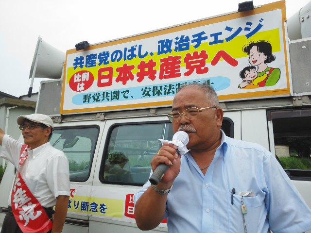 今朝は日生中央駅前からスタート*^ー^*「比例候補者カー」猪名川&川西くるくる♪まわります☆_f0061067_21451196.jpg