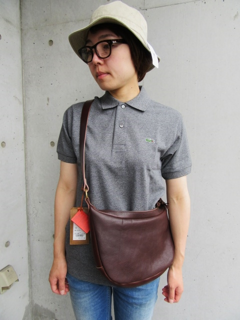 HTC ・・・ ONE STUDS LEATHER BRIEF CASE & 其れに合うSET!でのSLOW BAG!♪!_d0152280_20435548.jpg