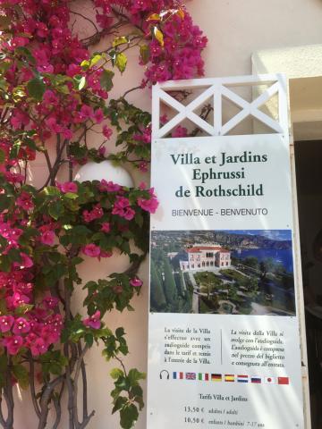 南仏 花の館 ロスチャイルド邸とコルビジェの別荘_c0195496_12501392.jpg
