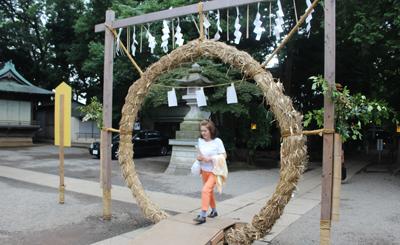 代々木八幡宮の大祓式に参加しました。_d0029716_23563187.jpg