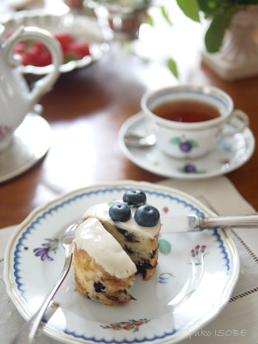 ブルーベリーカップケーキ@ゆるマクロビ_a0169924_127514.jpg
