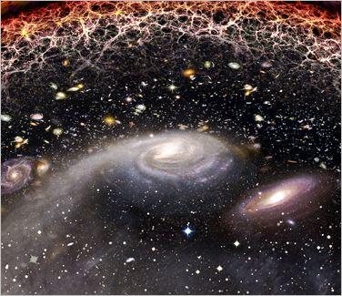 【宇宙の神秘】 宇宙の大規模構造と「宇宙地図」_c0011649_392165.jpg