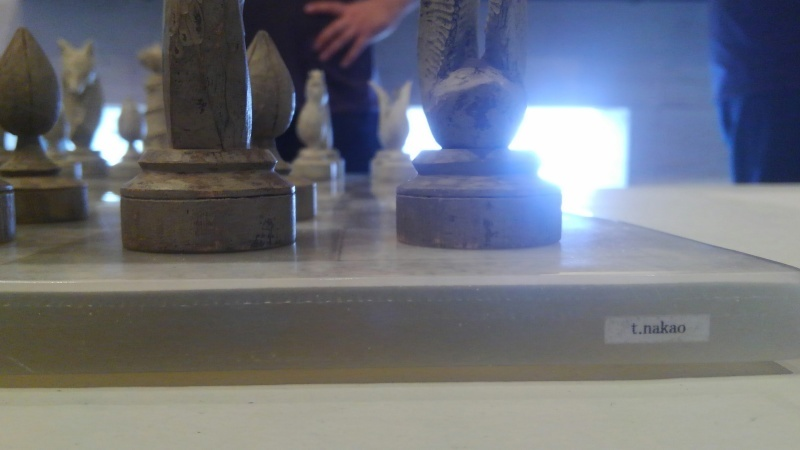 ナカオタカシとクロヌマタカトシの展示1_f0351305_17381833.jpg