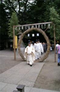 代々木八幡宮の大祓式に参加しました。_d0029716_035642.jpg