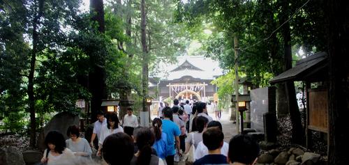 代々木八幡宮の大祓式に参加しました。_d0029716_043597.jpg