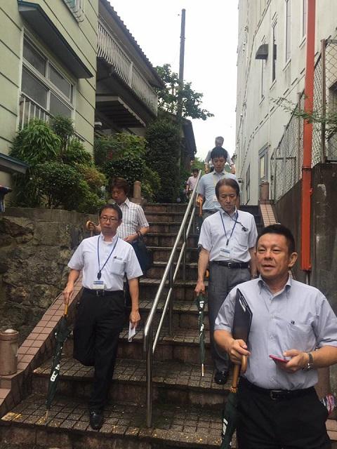 /// 兵庫県商工会金融審査委員2日目 湯村温泉のジオガイドをしました ///_f0112434_14383262.jpg